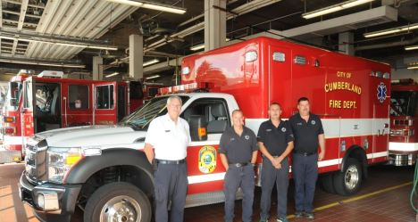MarylandFirefighters com - Cumberland Fire Department station and